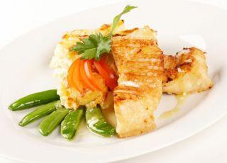 ryba, talerz, kuchnia