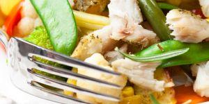 ryba, zapiekanka, zapiekanka rybna, ryba z warzywami, ryba pieczona