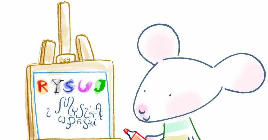 Rysuj z Myszką w Paski