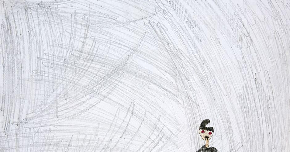 Rysunek dziecka z zespołem FAS