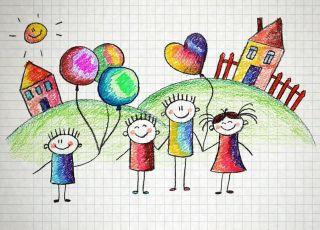 rysunek przedszkolaka