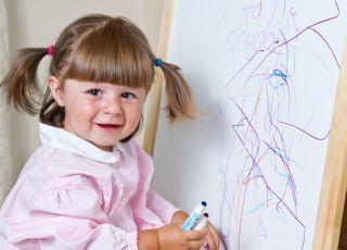 rysunki dziecka, kłopoty z rysowaniem