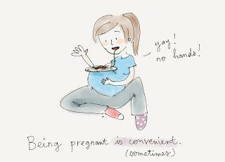 rysunkowy pamiętnik ciąży