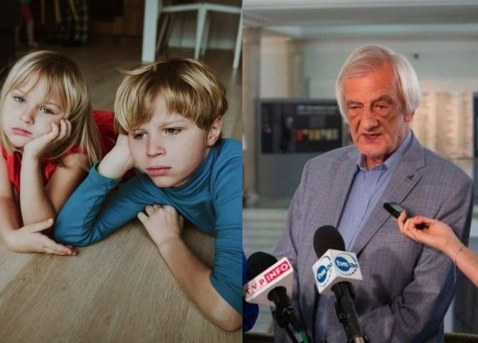 Ryszard Terlecki odniósł się do petycji rodziców w sprawie umożliwienia dzieciom wychodzenia na dwór w ferie