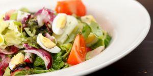 sałatka, jajko, warzywa
