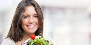 sałatka, zdrowe jedzenie, jedzenie, jeść