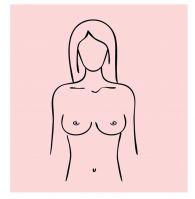 samobadanie piersi krok 1