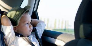 samochód, podróż, dziecko