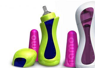 samopodgrzewająca się butelka, butelki dla dzieci, butelka liamo go, karmienie dziecka