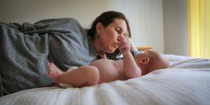 Samotna matka z dzieckiem
