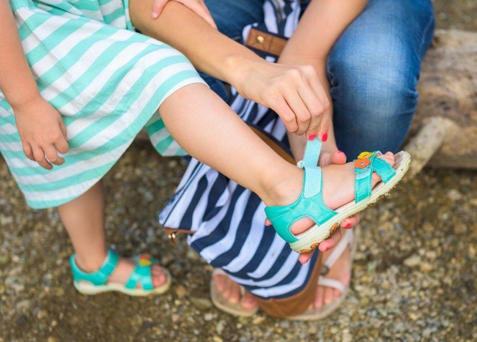 Sandałki dla dzieci w promocji w Lidlu