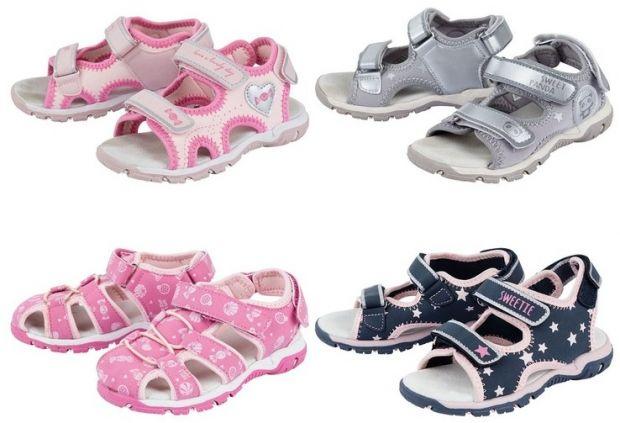 Sandały dziewczęce LUPILU
