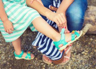 sandały profilaktyczne dla dzieci