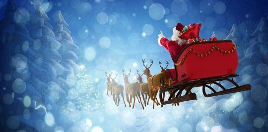 jak wygląda Mikołaj sanie Mikołaja