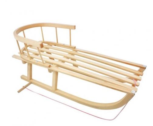 Sanki drewniane dla dzieci