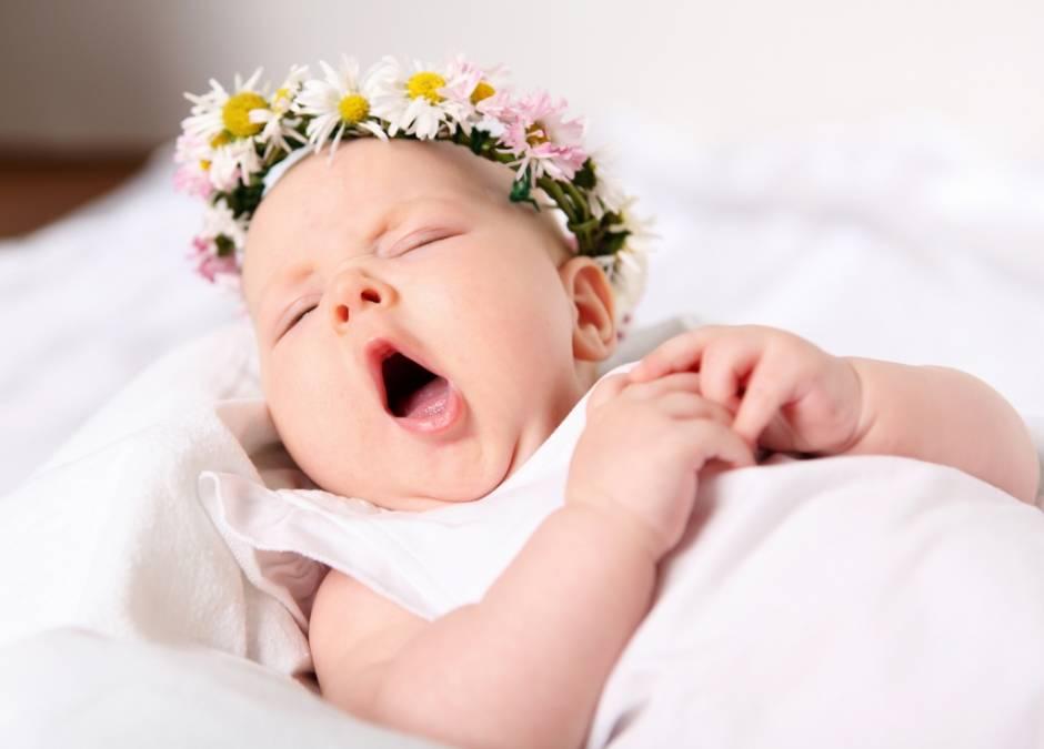 sapka u niemowlaka, pielęgnacja niemowlaka