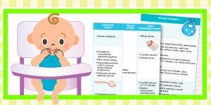 schemat żywienia niemowląt