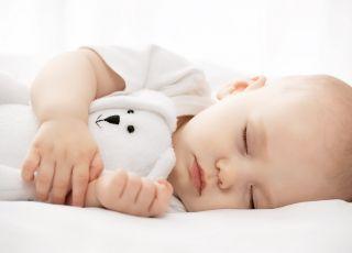 sen dziecka, spanie