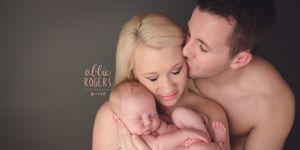 Sesja zdjęciowa niemowlaka z rodzicami