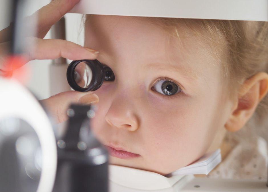 Siatkówczak rak oka u dziecka