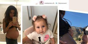 Siwiec pokazała zdjęcia nagiego brzucha w ciąży z Mią
