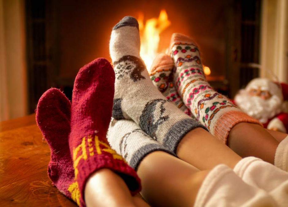 Skarpety świąteczne dla całej rodziny