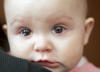skatowane niemowlę