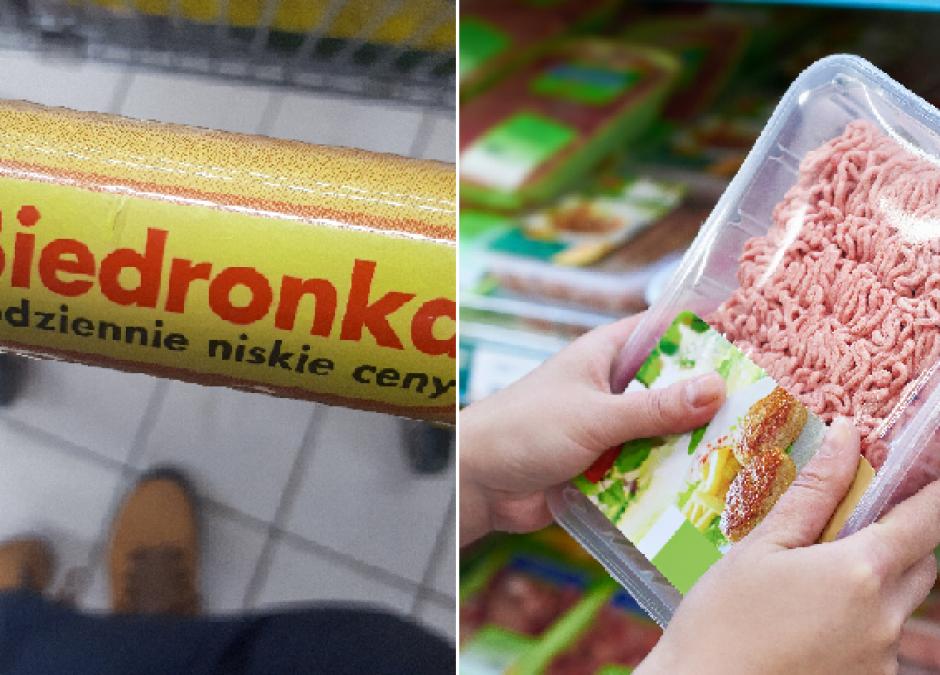 skażone mięso w Biedronce i Lidlu