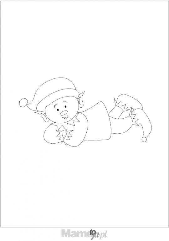skrzat  - kolorowanki Boże Narodzenie