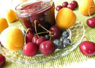 słoik, owoce, przetwory