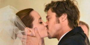 ślub, Angelina, Brad