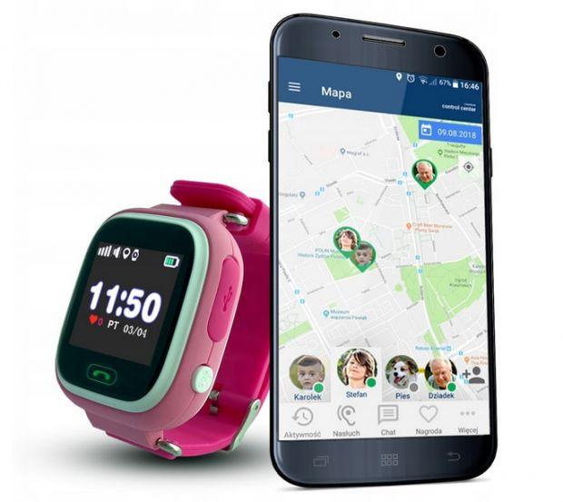 smartwatch dla dzieci polski calmean