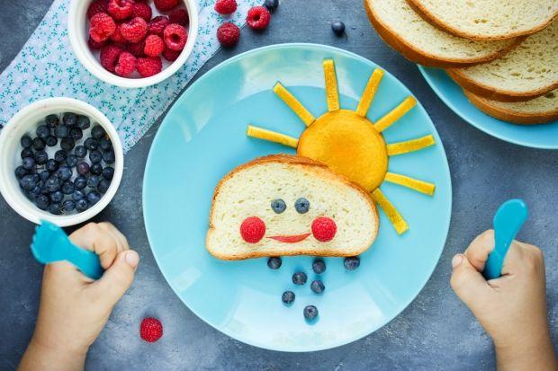 kolacje dla dzieci - słoneczko