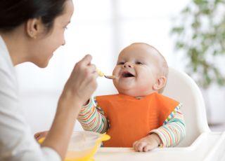 śniadanie dla niemowlaka