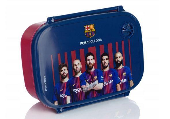 śniadaniówka do szkoły FC Barcelona