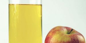 sok, jabłka