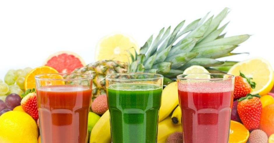 soki, świeże soki, owoce, warzywa