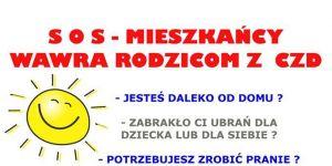 SOS - mieszkańcy Wawra rodzicom z CZD