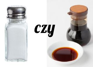 sos sojowy zamiast soli