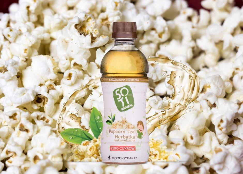 SOTI Natural Popcorn Tea