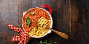 spaghetti prawie po bolońsku