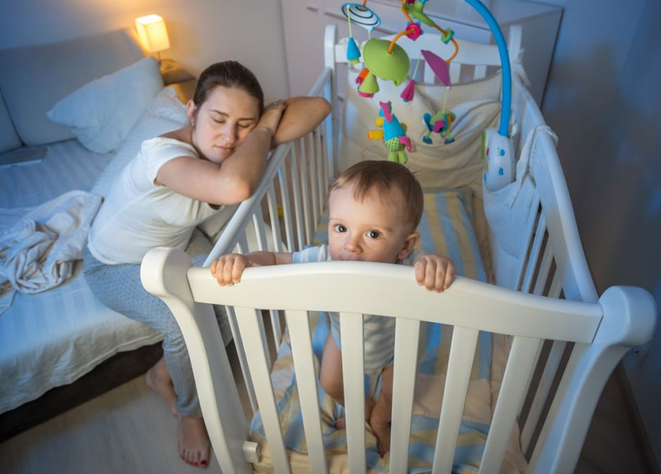 zmiana czasu a sen niemowlaka