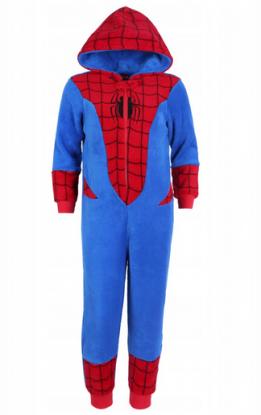 piżama jednoczęściowa spiderman