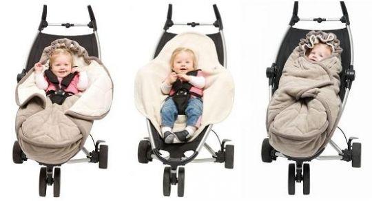 śpiworek dla niemowlaka, śpiworki do wózków