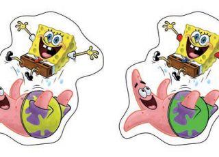 SpongeBob, zagadka dla dzieci, gra dla dzieci