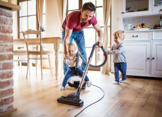 W trosce o zdrowie twojego malucha lepiej nie przesadzaj ze sprzątaniem