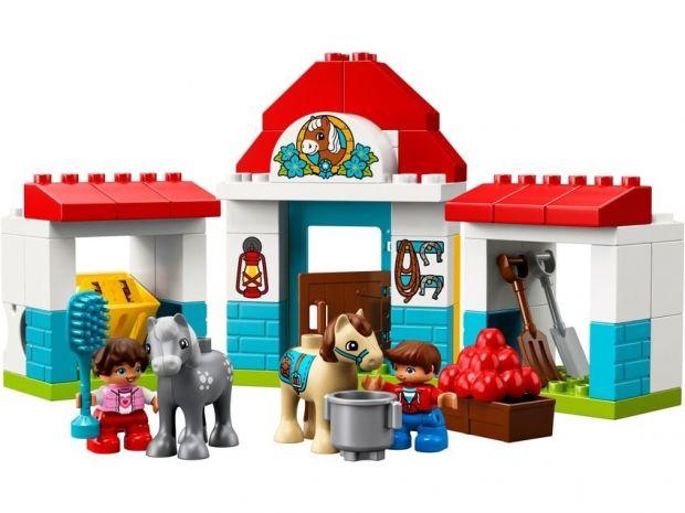 Klocki Lego Duplo Stajnia z kucykami 10868