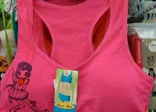 Stanik powiększający piersi dla 10-latki