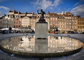 Starówka, Warszawa, spacer z dzieckiem po Warszawie