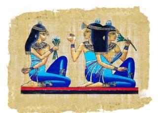 starożytne testy ciążowe, starożytność, papirus